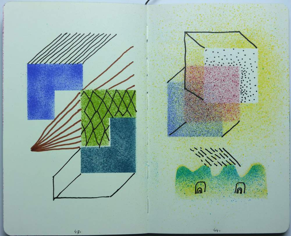 Sketch book. May-September 2015